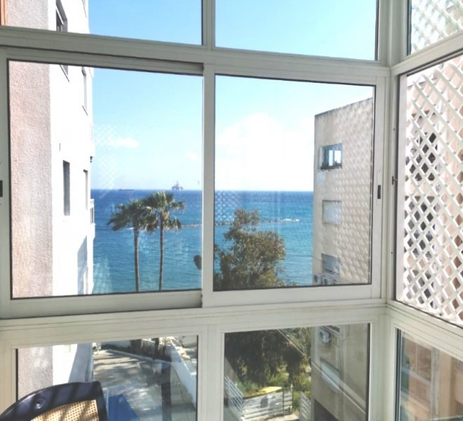 Side Sea View 3-Bedroom Apartment in Limassol, Cyprus, AK12010 image 1
