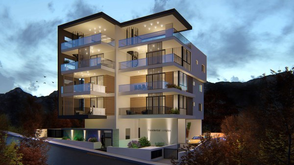 Limassol Property Modern Two Bedroom Apartment in Agia Fyla, Limassol, Cyprus, AE12861 image 1
