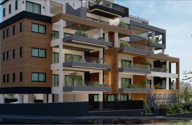 Limassol Property Luxury Apartments In Agios Athanasios for sale in Agios Athanasios AE12938 image 1