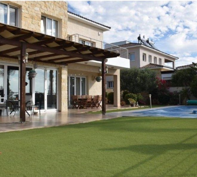Limassol Property Villa With Amazing Limassol And Sea View in Paniotis, Germasogeia, Cyprus, AE13041 image 1