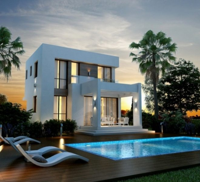 Contemporary 3-Bedroom Villas in Paralimni, Cyprus, AK12002 image 3