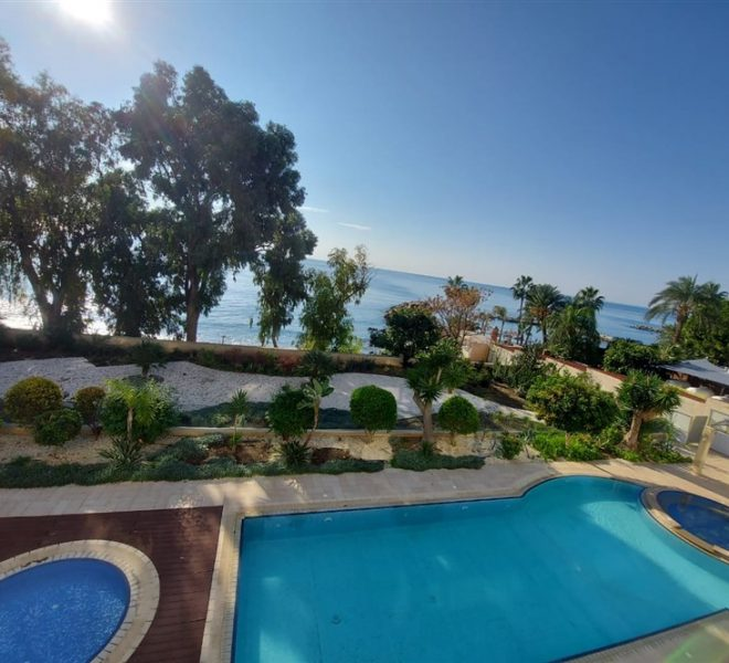 Limassol Property Seafront Luxury Three Bedroom Apartment in Agios Tychon, Cyprus, AE13121 image 1