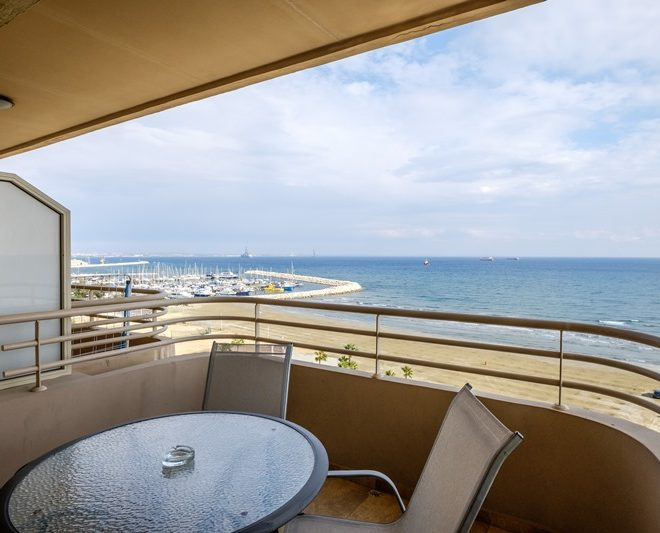 Larnaca Property Two Bedroom Apartment On The Beach for sale in Finikoudes AM 12832 image 2