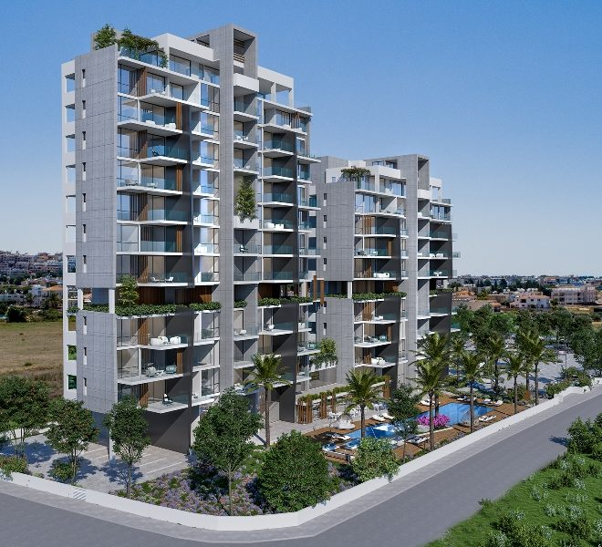 Modern 3-Bedroom Apartments within Complex for sale in Paphos image 1
