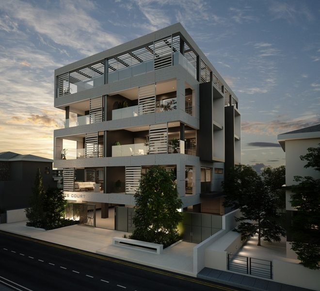 Contemporary Low-Rise Residential Complex for sale in Germasogeia CM10218 image 3