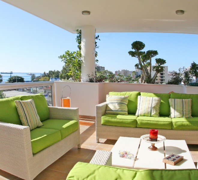 Luxury 4 Bedroom Penthouse with Fantastic Sea Views for sale in Limassol centre image 5