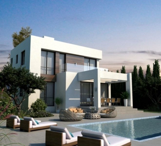 Contemporary 3-Bedroom Villas in Paralimni, Cyprus, AK12002 image 1