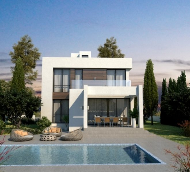 Contemporary 3-Bedroom Villas in Paralimni, Cyprus, AK12002 image 2