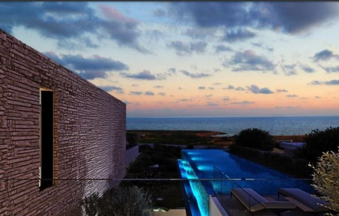 Paphos Property Unique Contemporary Villas In Coral Bay Area in Coral Bay, Peyia, Cyprus, MK12946 image 2