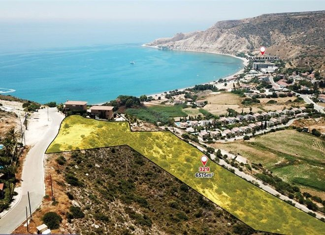 Limassol Property Excellent Location Plots and Houses In Pissouri in Pissouri Bay, Cyprus, AM13022 image 2