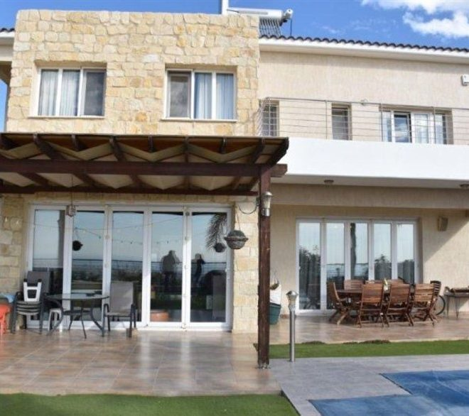 Limassol Property Villa With Amazing Limassol And Sea View in Paniotis, Germasogeia, Cyprus, AE13041 image 2