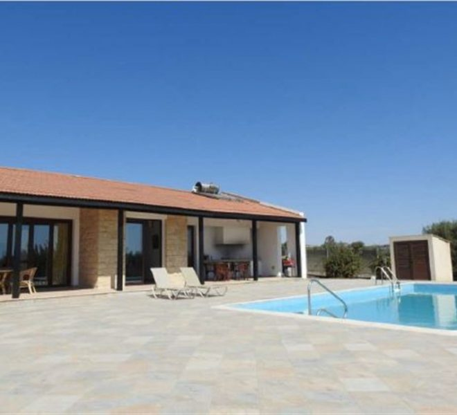 Larnaca Property Three Bedroom Detached Villa With Swimming Pool in Maroni, Cyprus, AE13070 image 2