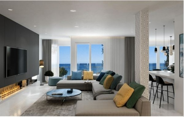 Limassol Property Luxury Apartment In Ayios Tychonas Seafront in Agios Tychon, Cyprus, CM13115 image 2