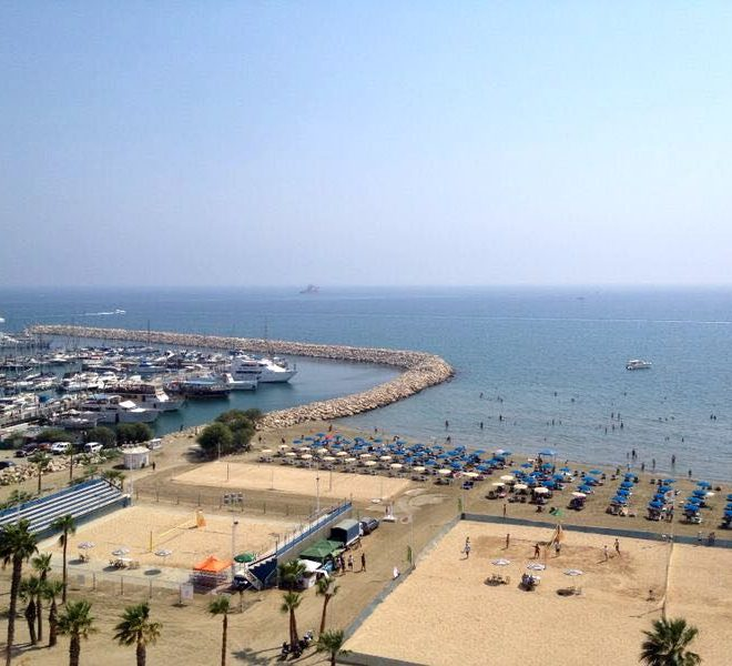 Sea Front 2-Bedroom Apartment in Larnaca, Cyprus, MK11441 image 1