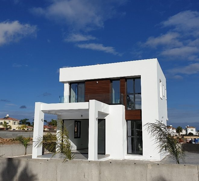 Contemporary 3-Bedroom Villas in Paralimni, Cyprus, AK12003 image 1