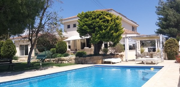 Limassol Property Luxury Five Bedroom Villa Located in Pyrgos in Pyrgos, Cyprus, AE12845 image 1