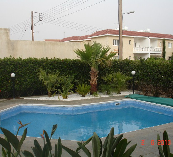 3 Bedroom Villa with Swimming Pool and Garden in Germasogeia, Cyprus, CM6787  image 2
