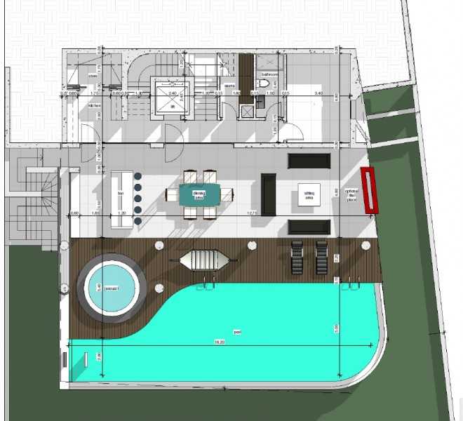 New Luxury 5 Bedroom Villa with Sea View in Agia Fyla, Limassol, Cyprus, MK9251 image 2