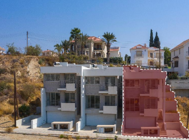 Limassol Property 4-Bedroom Maisonette for Sale in Agios Athanasios, Cyprus, MK12803 image 3