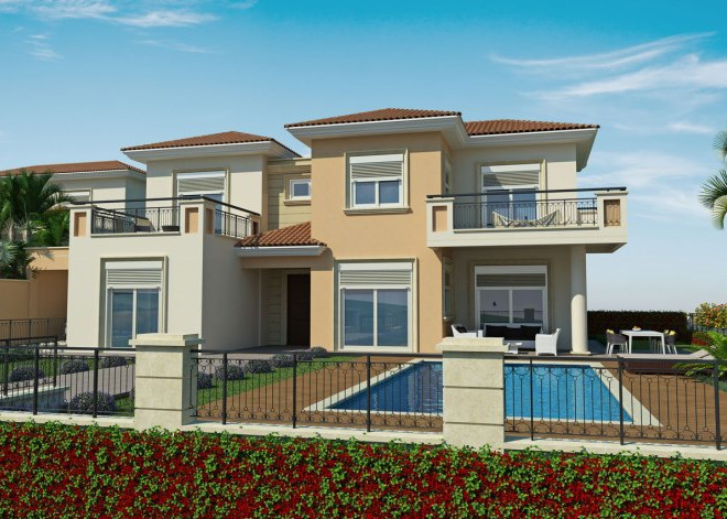New 4 Bedroom Villa with Swimming Pool in Pyrgos, Cyprus, CM7117 image 1