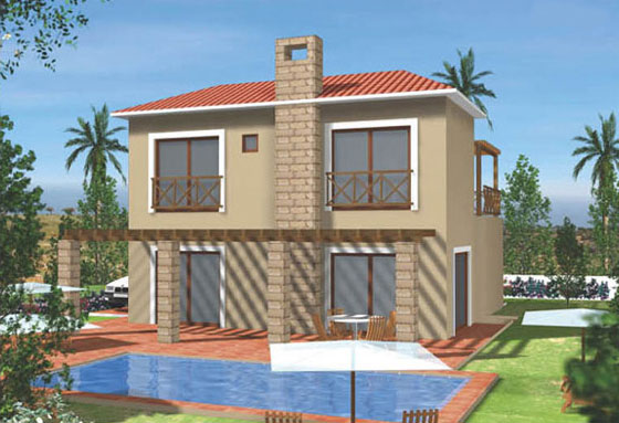 New 3 Bedroom Villa In Pissouri Village in Pissouri, Limassol, Cyprus, LP7250 image 2