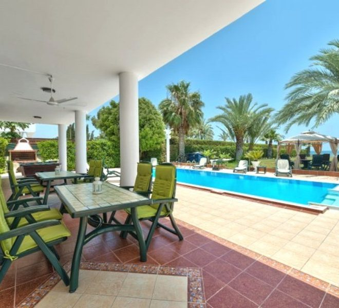 Sea Front 6-Bedroom Villa in Perivolia, Cyprus, MK11318 image 1