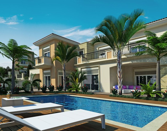 New 4 Bedroom Villa With Swimming Pool in Pyrgos, Cyprus, CM7116 image 1