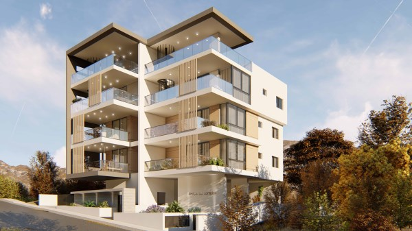 Limassol Property Modern Two Bedroom Apartment With Sea Views in Agia Fyla, Limassol, Cyprus, AE12861 image 1