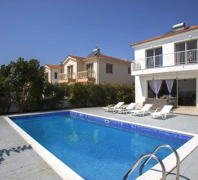 Luxury 4-Bedroom Villa in Mazotos, Cyprus, MK10548 image 1