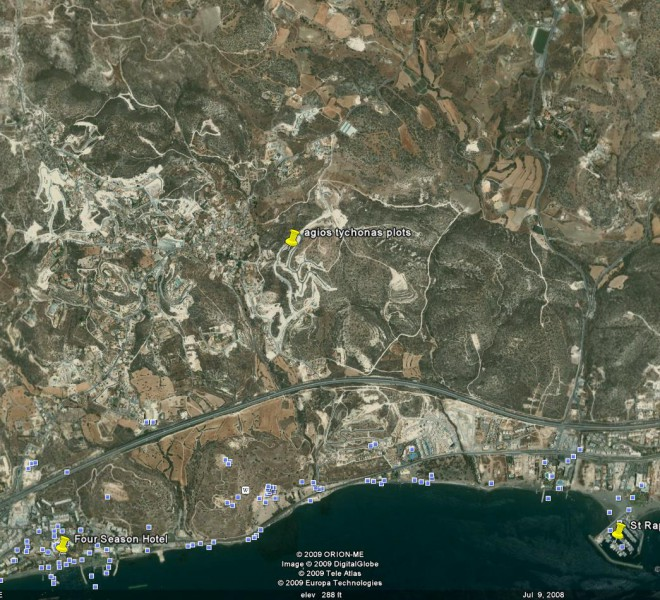 Building Plot for Sale in Agios Tychonas for sale in Agios Tychonas image 1