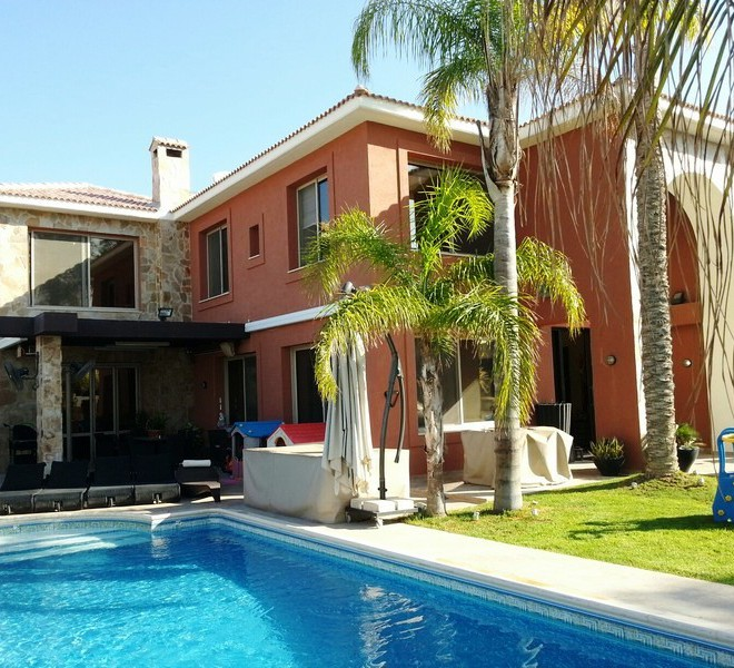 Luxury 5 Bedroom Villa with Swimming Pool in Agios Tychonas, Cyprus, CM6823 image 1