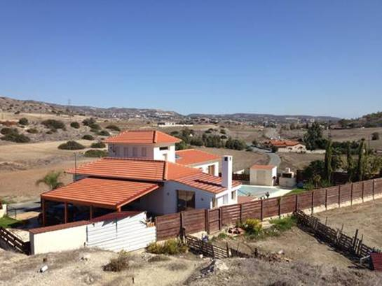 3 Bedroom Bungalow with Sea and Mountain Views in Monagroulli, Cyprus, PX8196 image 1