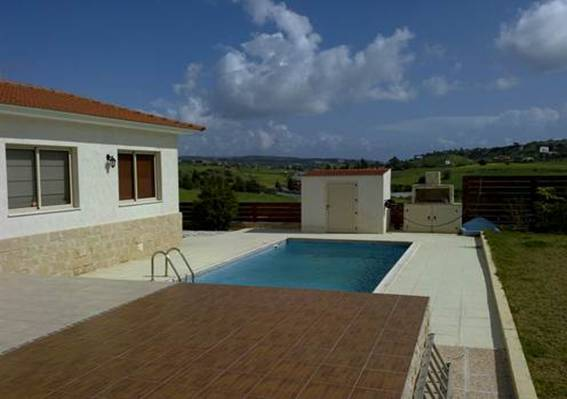 3 Bedroom Bungalow with Sea and Mountain Views in Monagroulli, Cyprus, PX8196 image 3
