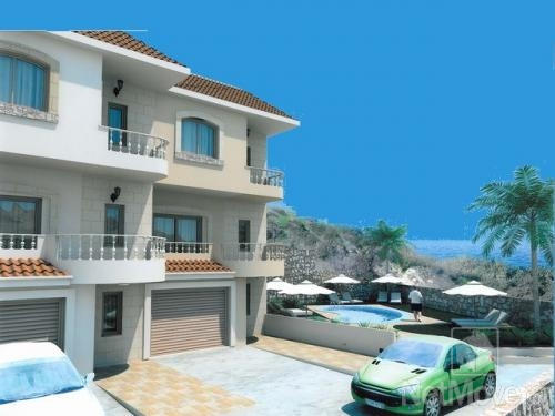 Bedroom Townhouse with Communal Pool for sale in Agios Tychon CM6755 image 1