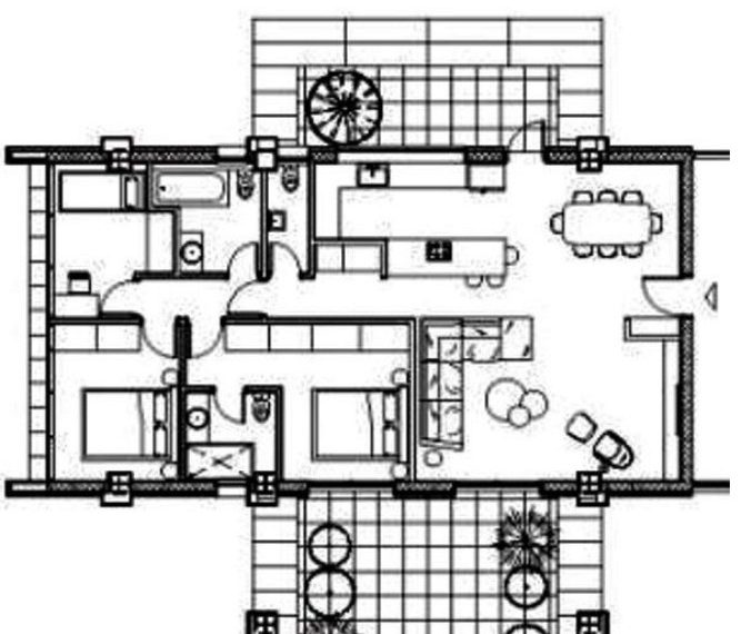 A plan floor lvl 2