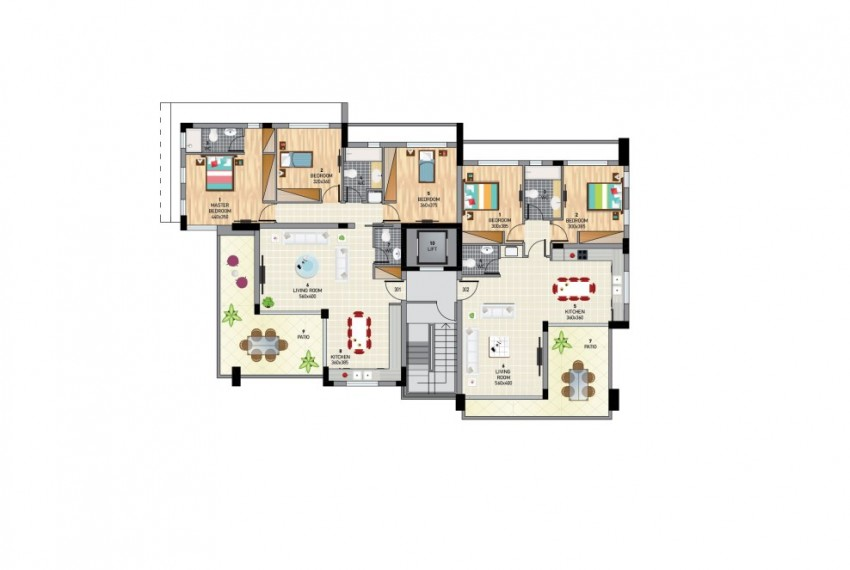 BLOCK A TYPICAL FLOOR PLAN copy-01-01