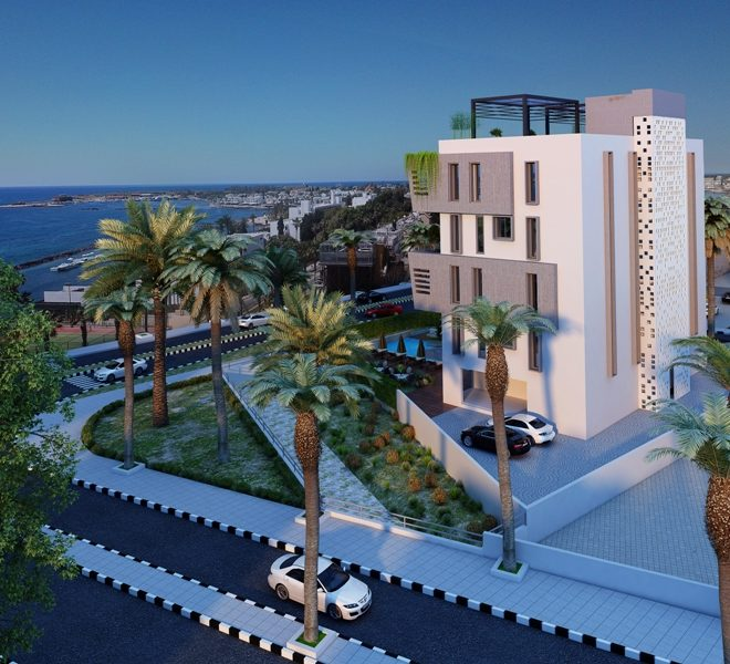 Contemporary 3-Bedroom Apartments in Paphos, Cyprus, AE12338 image 1