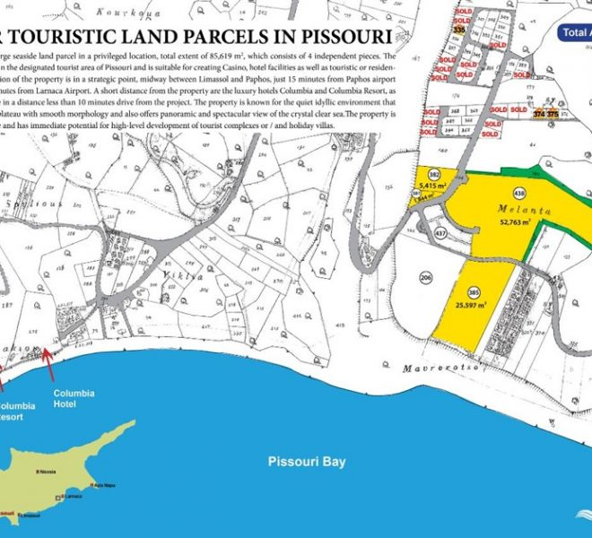 Limassol Property Excellent Location Plots and Houses In Pissouri in Pissouri Bay, Cyprus, AM13022 image 3