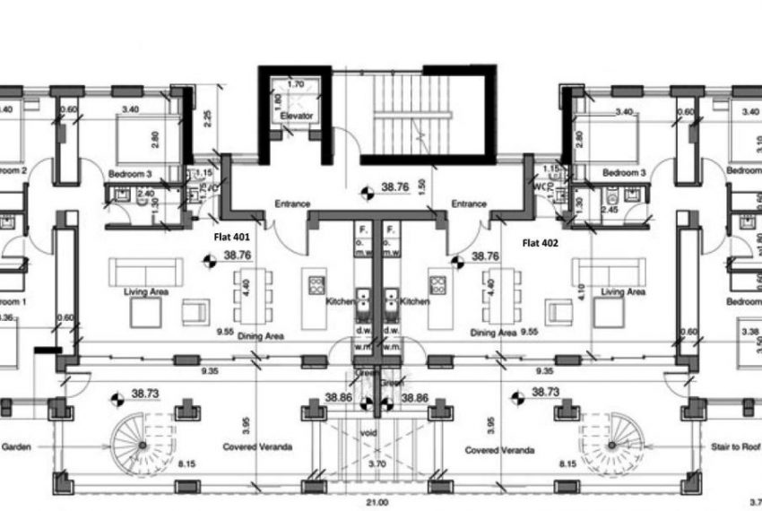 Capture 2nd and 4th floor plans