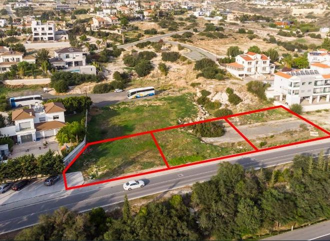 Three Residential Plots in Germasogiea in Germasogeia, Cyprus, CM12625 image 1