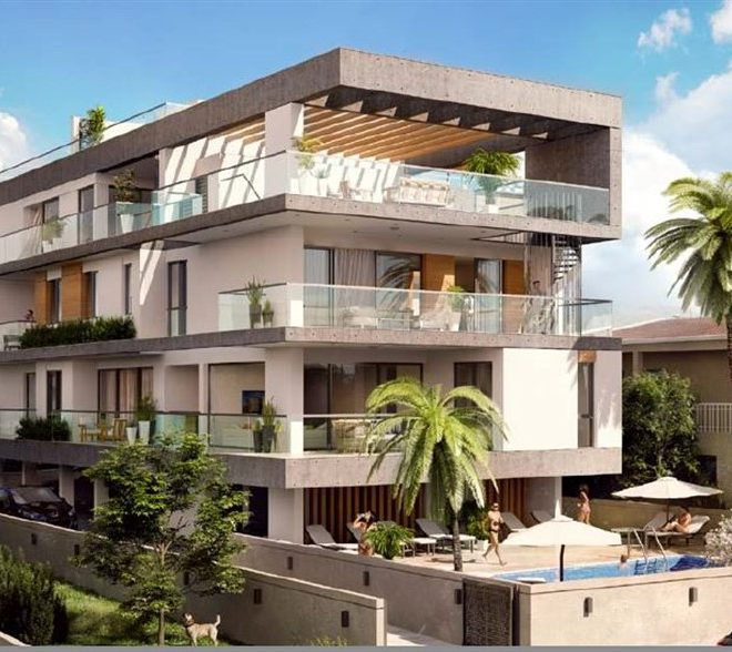 Limassol Property Stunning Two Bedroom Penthouse In Papas Area for sale in Potamos tis Germasogeias, Germasogeia CM13214 image 1