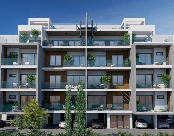 Limassol Property Attractive One Two Or Three Bedroom Apartments in 6, Προμαχών Ελευθερίας, Αγ. Αθανάσιος, Cyprus, AM12924 image 1