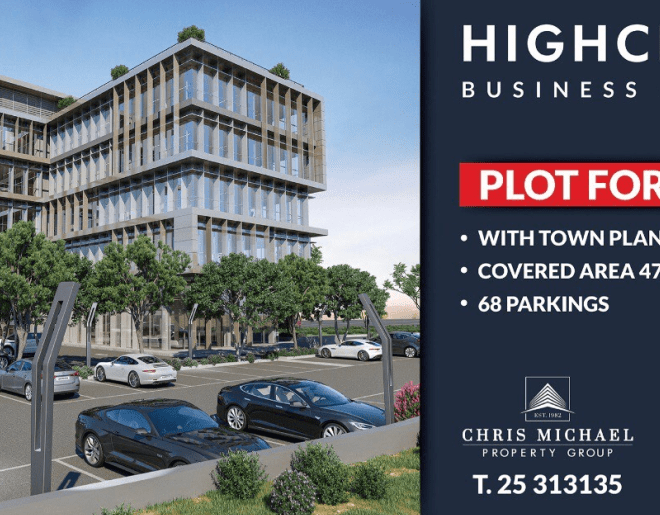 Limassol Property Modern Business Center With Seaview for sale in Limassol CM12389 image 3