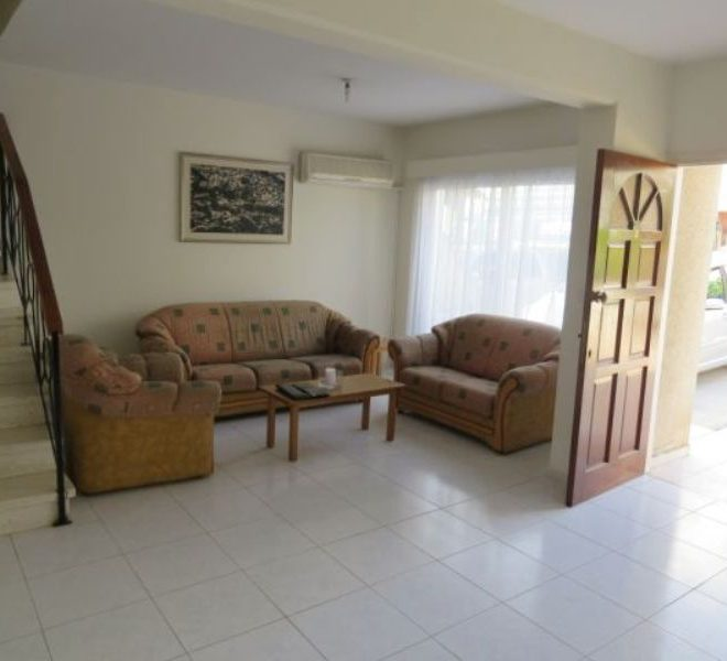 Cozy 3-Bedroom Maisonette in Paphos, Cyprus, MK11503 image 1