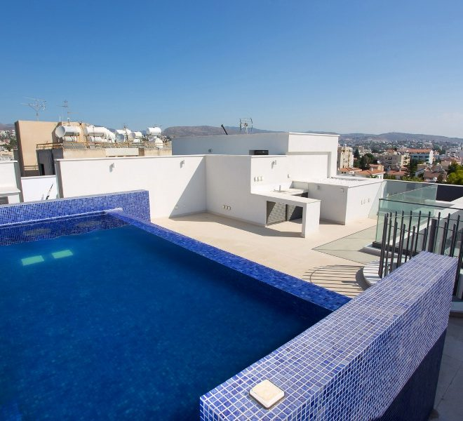 Contemporary 3-Bedroom Penthouse in Limassol, Cyprus, AE12460 image 1