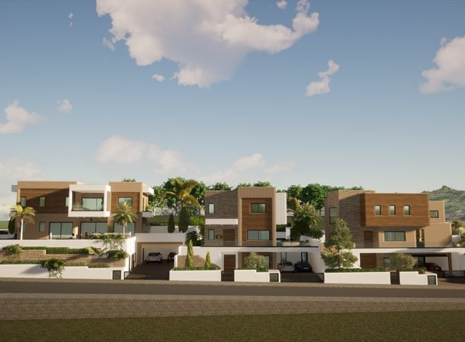 Limassol Property Luxury Three Bedroom Villas With Sea Views in Mouttagiaka, Cyprus, AE13055 image 1
