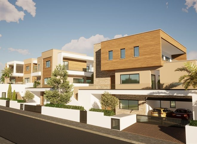 Limassol Property Luxury Three Bedroom Villas With Sea Views in Mouttagiaka, Cyprus, AE13055 image 2