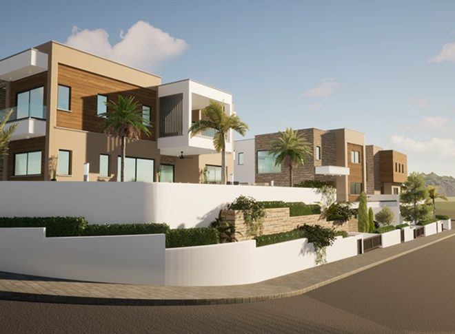 Limassol Property Luxury Three Bedroom Villas With Sea Views in Mouttagiaka, Cyprus, AE13055 image 3