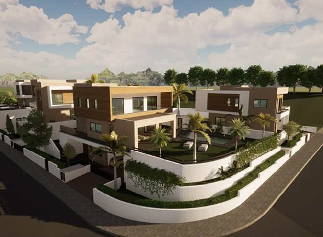 Limassol Property Luxury Five Bedroom Villas With Sea Views in Mouttagiaka, Cyprus, AM13056 image 3