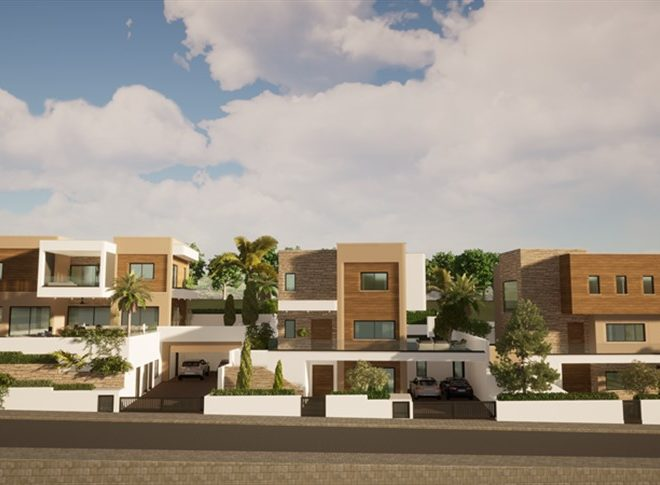 Limassol Property Luxury Five Bedroom Villas With Sea Views in Mouttagiaka, Cyprus, AM13056 image 1